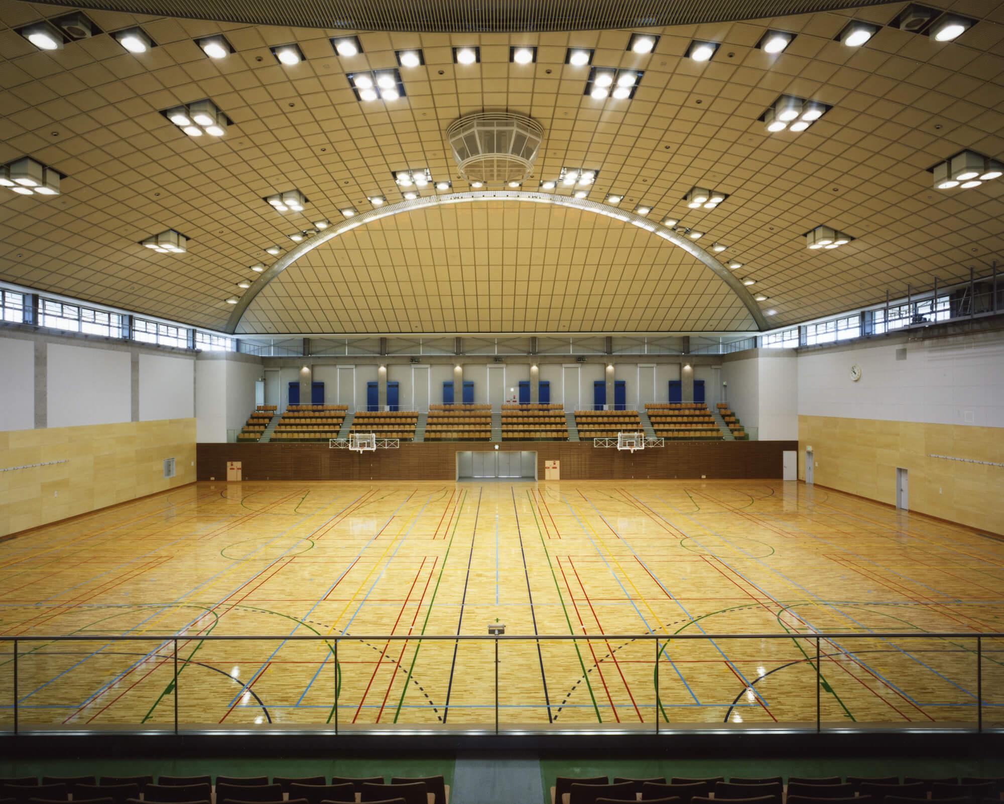 堺市原池公園体育館|Work|梓設計