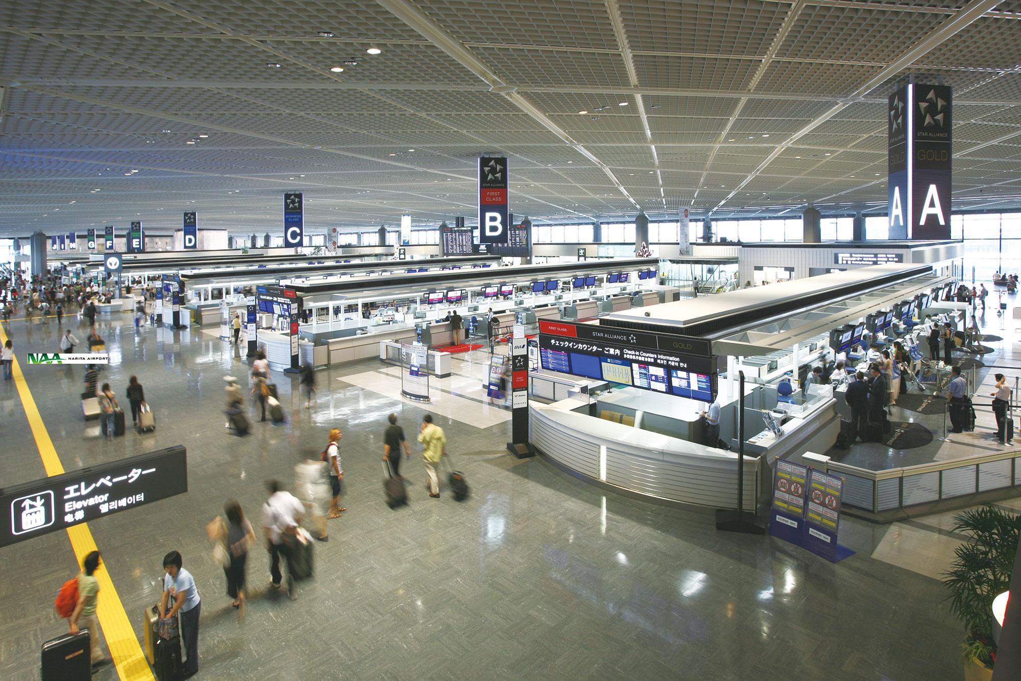 成田国際空港第1旅客ターミナルビル|Work|梓設計
